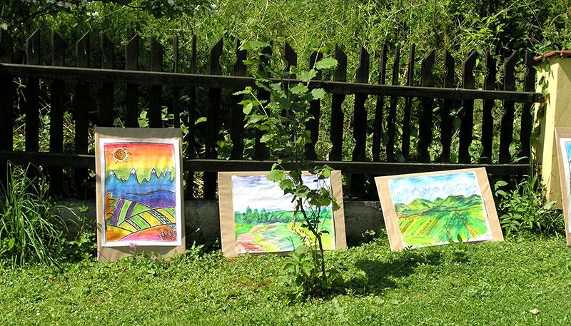 Gronkow Art Camp - Garden Art Show