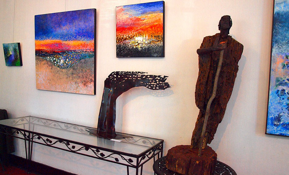 Grebski, Maryanska & Tomaszewski, Art Exhibit, Bronxville