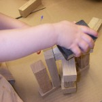 Constructing with wood scraps