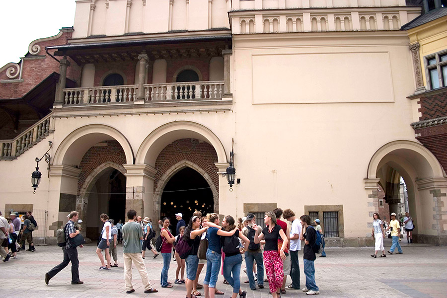 Sukiennice, Square Market, Krakow 2006
