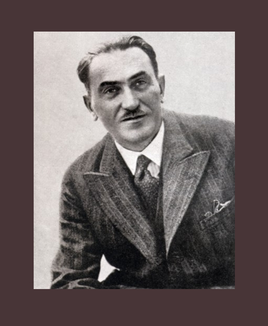 Tadeusz Boy-Zelenski (1874-1941) Polish stage writer, poet, critic above all, and translator of over 100 French literary classics into Polish. He was a physician by profession.