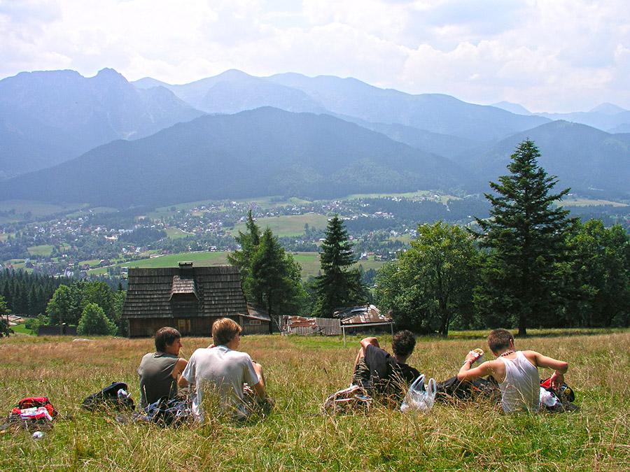 View from Butorowy Wierch