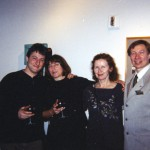 from left: B. Slavin, K. Lesniak, A. Andrejczuk, M. Zak