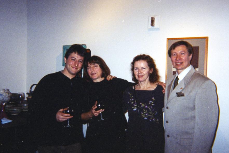 from left: B. Slavin, K. Lesniak, A. Andrejczuk, M. Zak