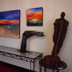 Paintings, Basha Maryanska; Sculpture, Lubomir Tomaszewski