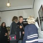 Rafal Olbinski with guests
