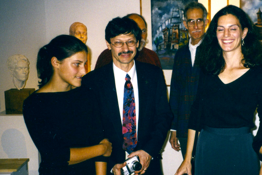 Eve Jordan with Jerzy Lesniak