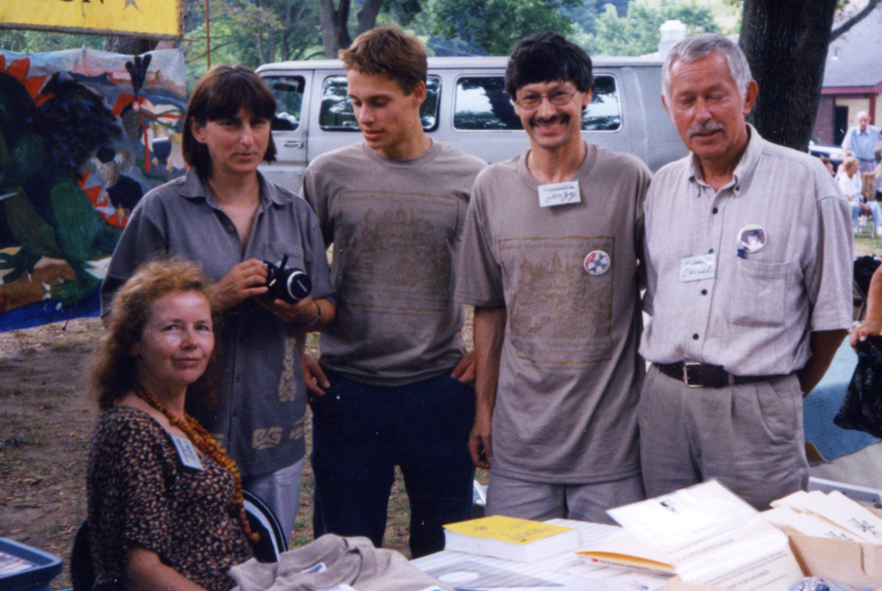 Lech, the exchange student (3rd from left) was helping a lot during the entire event