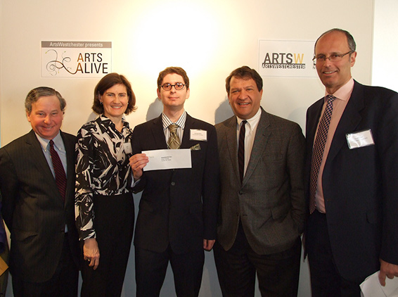 Art Alive Awards breakfast, 2013, ArtsWestchester, White Plains