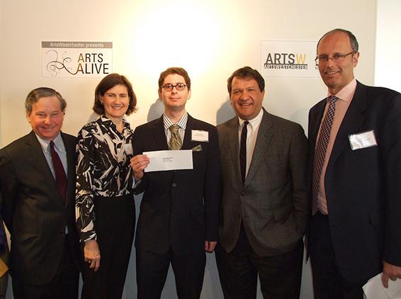 Art Alive Awards breakfast, 2013, ArtsWestchester, White Plains
