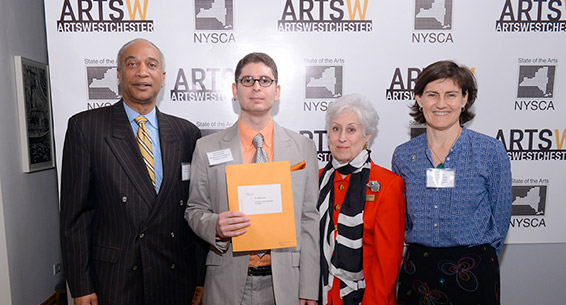 Arts Alive Award breakfast, 2014, ArtsWestchester, White Plains