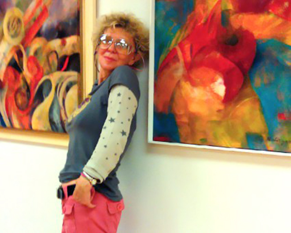 Mira Satryan and her paintings