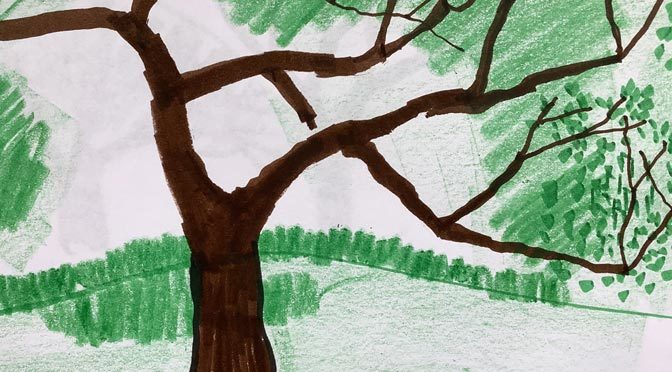 Art Club – TREES